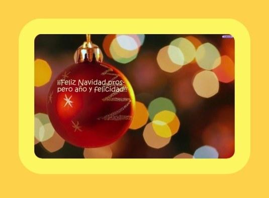 Bola de navidad, roja1
